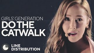 GIRLS' GENERATION - Do the Catwalk (Line Distribution)