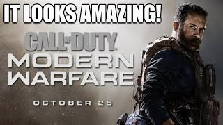 I Hate To Say It, But The Call of Duty: Modern Warfare Looks AMAZING!