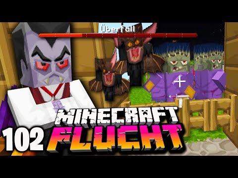 Schmiddis RACHE! Unser Dorf wird angegriffen! ☆ Minecraft FLUCHT #102