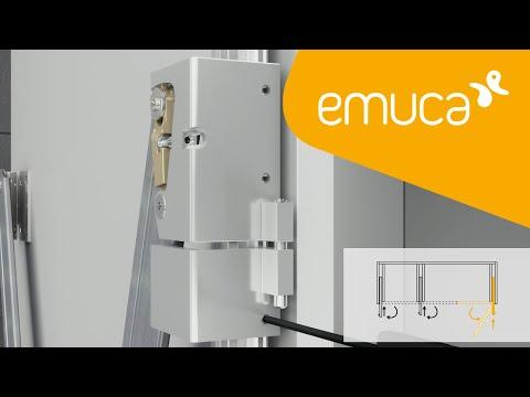 Cómo instalar un sistema corredero Concepta 30 - Emuca