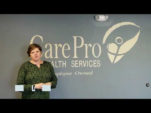 Image of CarePro President & CEO message video