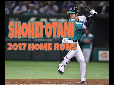 Shohei Ohtani 2017 home runs