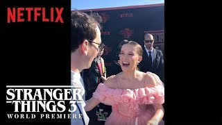 The Curiosity Carpet with Mr. Clarke | Stranger Things 3 Premiere | Netflix