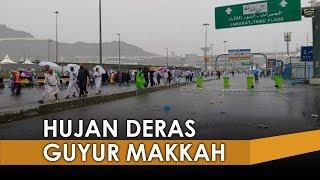 Mekkah Hujan Deras, Banjir Dan Tenda Jemaah Haji di Mina Bocor