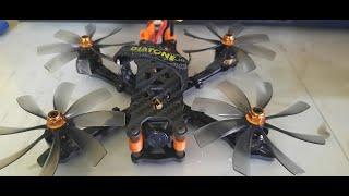 12/09/2021 - Maiden Flight Zjwrc 3 Inch Frame Kit (Analog Fpv)