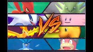 Slowking  - (Pokémon) - Pokemon GO Gym Battles 3 Takeovers Moltres, Lugia, Articuno, Scizor, Blissey, Slowking & more