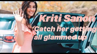 Kriti Sanon : getting all glammed up