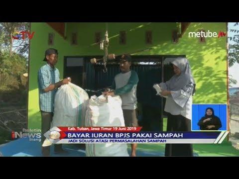 Meringankan Beban, Warga Tuban Bayar BPJS Pakai Sampah - BIS 19/06