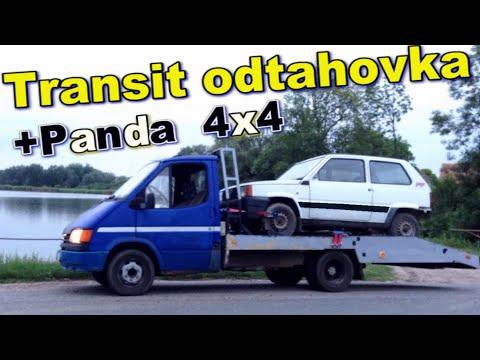 Event-VLOG #90 - Transit odtahovka + odvoz pandy 4x4