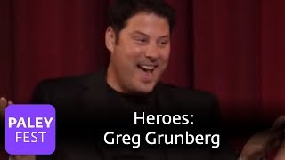 A propos de son r�le dans Heroes (VO)