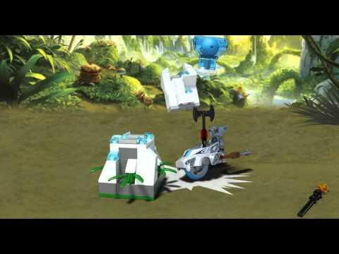 Vidéo LEGO Chima 70106 : La tour de glace