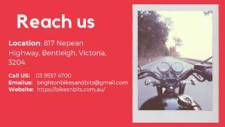 Brighton Bikes and Bits - Oldest Motorcycle Stores in Australia