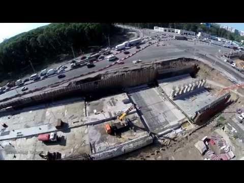 Реконструкция Московского шоссе # Ракитовское шоссе # июль 2016 # Samara