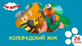 Три кота - Колорадский жук- Выпуск №26 |Развивающее видео для детей