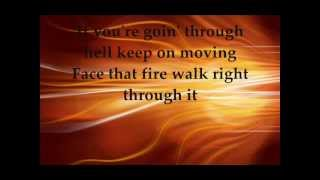 Rodney Atkins; If You're Going Through Hell [ON-SCREEN LYRICS]
