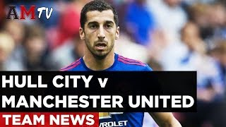 Hull City V Manchester United  Premier League  27 August 2016  PREDICT THE TEAM