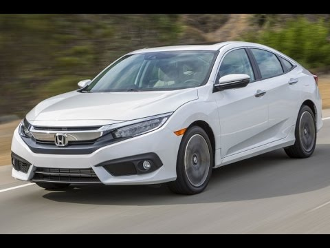 2016 Honda Civic Start Up and Review 2.0 L 4-Cylinder