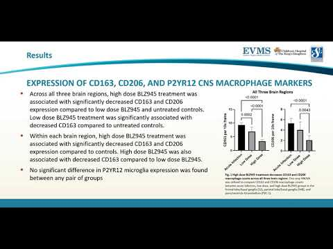 Thumbnail image of video presentation for Effects of CSF1R Blockade on Brain Macrophages and SIV Neuropathogenesis in Acutely SIV-Infected Rhesus Macaques