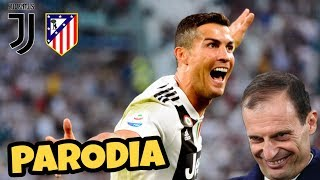 JUVE ATLETICO MADRID 3-0 - Parodia