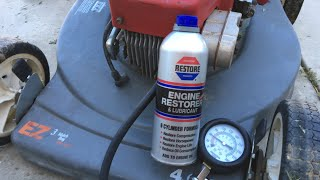 """Experiment: Trying """"Engine Restore"""" on a LawnMower"""