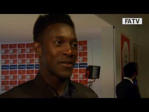 Danny Welbeck post match interview – Manchester United vs Wigan Athletic 2-0 FA Community Shield