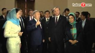 Президенты Казахстана и Турции посетили мавзолей Ходжа Ахмада Яссауи