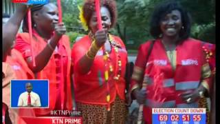 Gladys Boss Shollei  cleared by IEBC to run for Uasin Gishu women representative seat