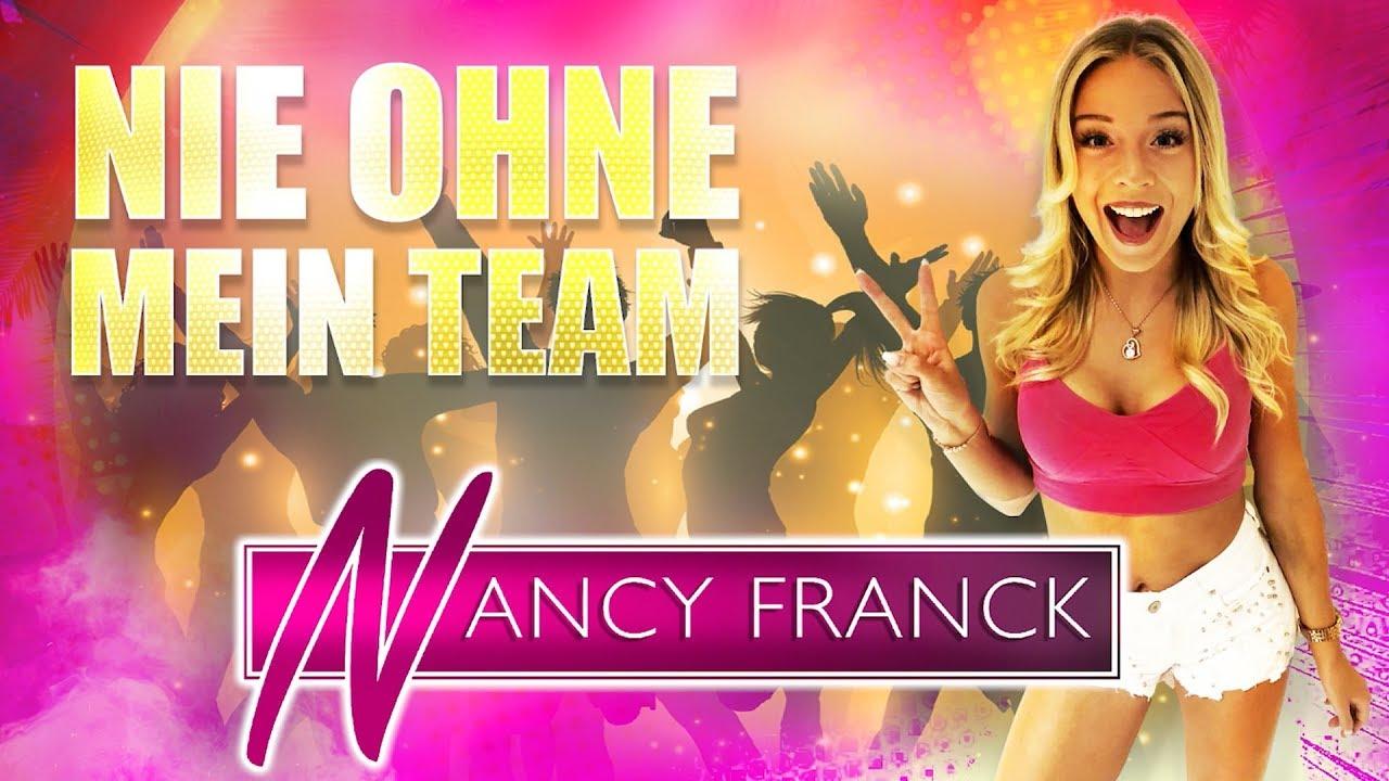 Nancy Franck – Nie ohne mein Team