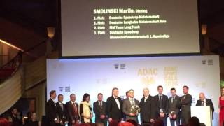 Laudation Martin Smolinski ADAC Südbayern Sportgala