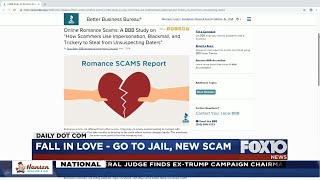 BBB online romance scams warning