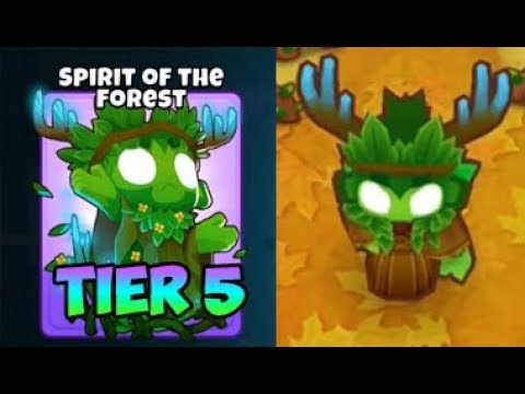 Bloons TD 6 - SPIRIT OF THE FOREST - 5TH TIER DRUID