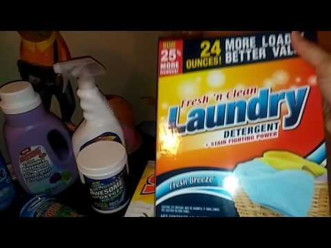 Dollar Tree Laundry products.👕👚👗👖💦 Save some money.💰👛