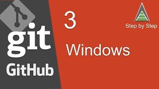 Git and GitHub Beginner Tutorial 3 - Getting started - Install Git windows