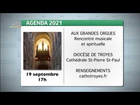 Agenda du 10 septembre 2021