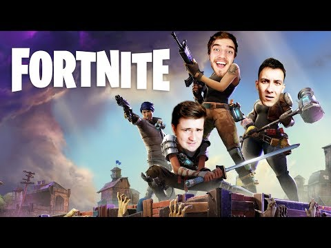 FORTNITE! w/ Bax & House