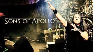 """SONS OF APOLLO """"Just Let Me Breathe (Dream Theater cover)"""" live in Greece (4K)"""
