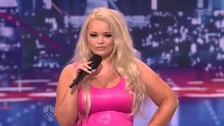 Americans got talent 2012 episode 10 Trisha Like A Fish