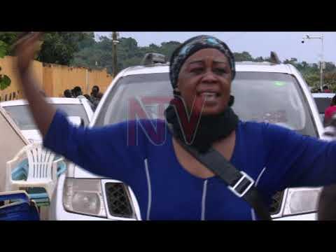 Mulungu locals protest KCCA eviction