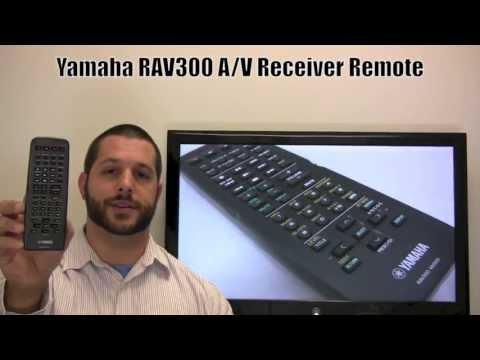 YAMAHA RAV300 Audio/Video Receiver Remote Control