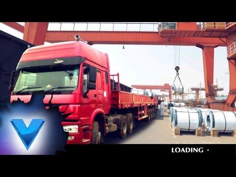 Video of 18 Wheels Trucks & Trailers