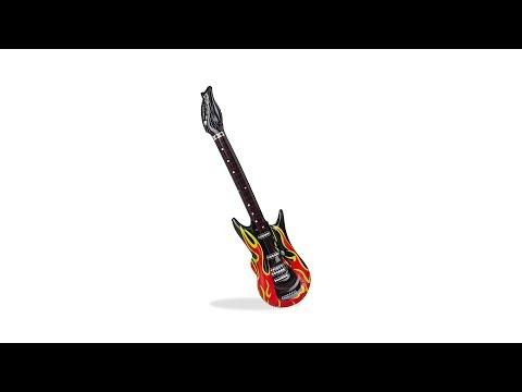 Aufblasbare Gitarre Flames