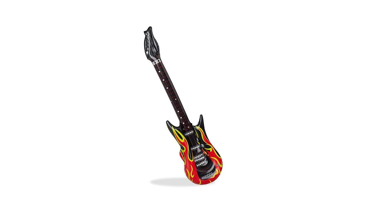 Video von: Aufblasbare Gitarre Flames