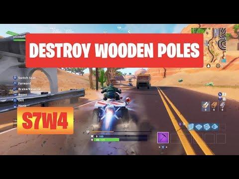 Fortnite Season 7 Week 4 Wooden Pallets Locations