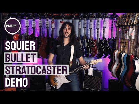Squier Bullet Stratocaster Demo Review – A Cheap Electric Guitar That Sounds Great