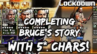 TWD RTS: Bruce's Story   Using 5* Chars & Roadmap Rundown   The Walking Dead: Road To Survival