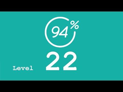 94 Prozent (94%) - Level 22 - Das wird schnell schmutzig - Lösung