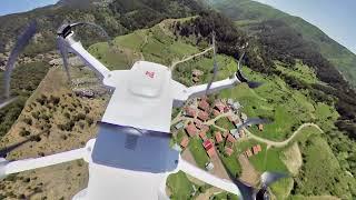Insta360 oneR REFRAMED 360º Drone Footage - insta360 Camera on Fimi X8 SE drone