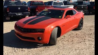 2011 Chevrolet Camaro 2LT With RS Package | 3.6L V6 | Edmonton | MA11548A | Crosstown Chrysler