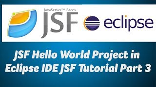 JSF Hello World Project in Eclipse IDE  JSF Tutorial Part 3