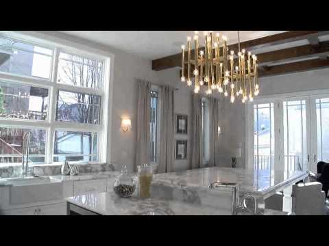 Two video tours of a new Lake View home